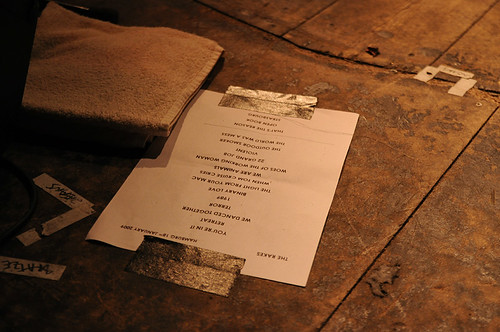 The Rakes Setlist @ Intro Intim