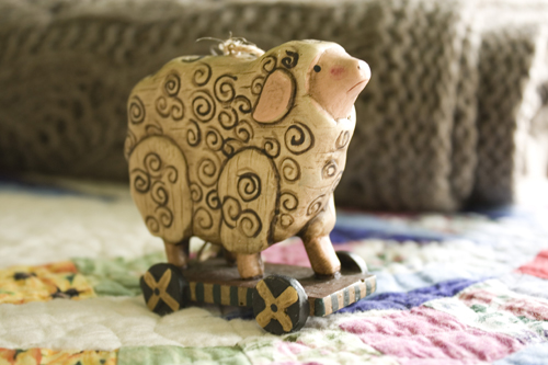 Lamby Ornament
