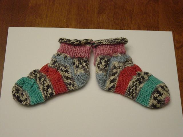 More baby monkey socks by suefaye13350