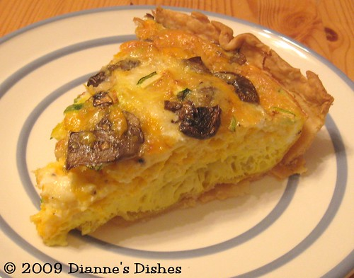 Better Bites: Whole Grain Zucchini and Mushroom Quiche