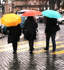 Umbrella Dance (vat_i_can) Tags: girls rome rain umbrella blueribbonwinner supershot superaplus infinestyle lunarvillage citrit colourartaward platinumheartaward rubyphotographer platinumgolddoubledragonawards