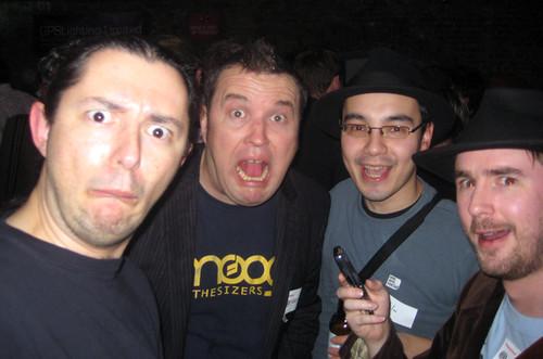 @edent @robingrant @qwghlm @flashboy - London Twestival 2009