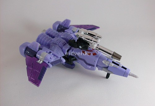 Transformers Cyclonus Classics Henkei - modo (by mdverde)