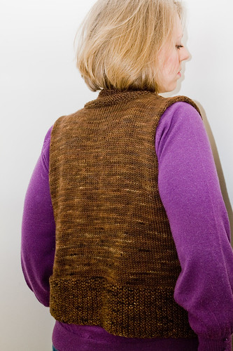 Tess Vest: Back View