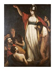 Boadicea Haranguing the Britons - John Opie (rosewithoutathorn84) Tags: woman women oppression historic queen warrior leader british extraordinary heroic boudicca heroines boadicea britons iceni