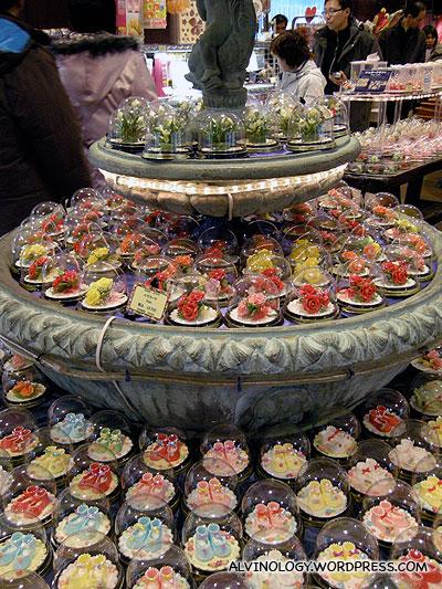 Sugar pastries