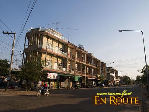 Laos Pakse Street