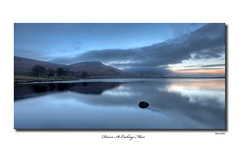 Dawn At Embsay Moor (SteveMG) Tags: longexposure lake reflection sunrise landscape yorkshire smg tarn picturesque pictureperfect yorkshiredales embsay mirrorser