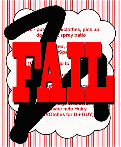 To Do  FAIL!