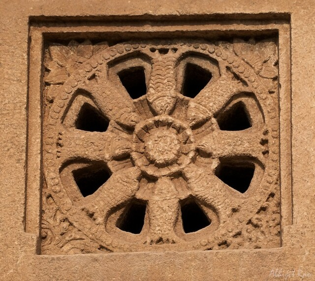 Stone window, Aihole