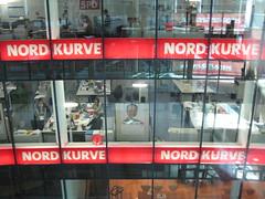 Willy-Brandt-Haus: Nordkurve (Wahlkampfzentrale der SPD)