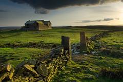 Abandoned Farm, Lower Whitley (andy_AHG) Tags: sunset clouds landscape ruins yorkshire scenic fields soe penistone blueribbonwinner otw nikond200 theunforgettablepictures goldstaraward crowedge goldenheartaward flickrclassique lowerwhitleyfarm upperwhitleyedge