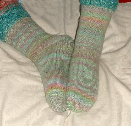 legwarmers and socks 2