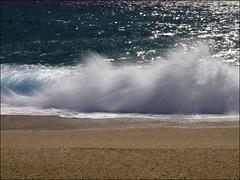 manel - al mar (vdbdc) Tags: sea beach water mar al agua wasser silk wave playa effect seda ona welle aigua ola platja onada manel efecte