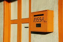 letter box (KC Toh) Tags: door box number letter 门 邮箱 号码 1335 橙色