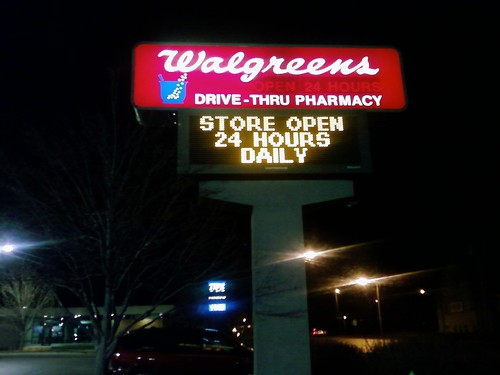 walgreens park fair mall des moines iowa sign - Walgreens Christmas Eve Hours