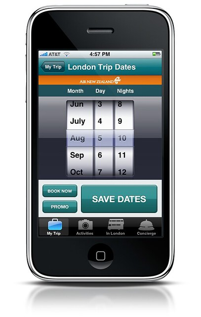 Air New Zealand Travel Guide amp Concierge iPhone App by tenfour archive