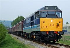 31270 peak rail (martin 65) Tags: derbyshire peak rail trains class 31 railways rowsley