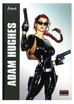 adam hughes artbook (art book ediciones)