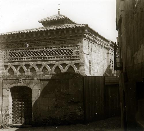 Mezquita del Cristo de la Luz a principios del siglo XX