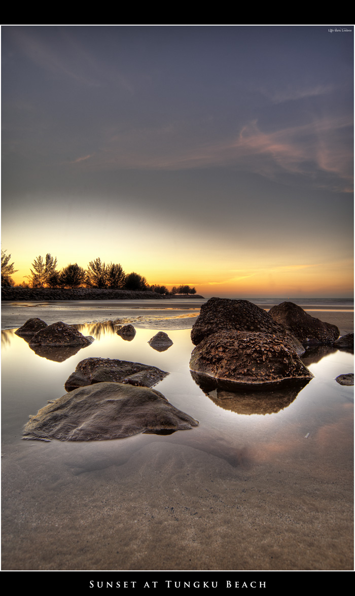 Sunset at Tungku Beach 03