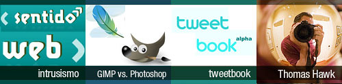 Mix 4: Intrusismo | GIMP vs. Photoshop | tweetbook | Thomas Hawk