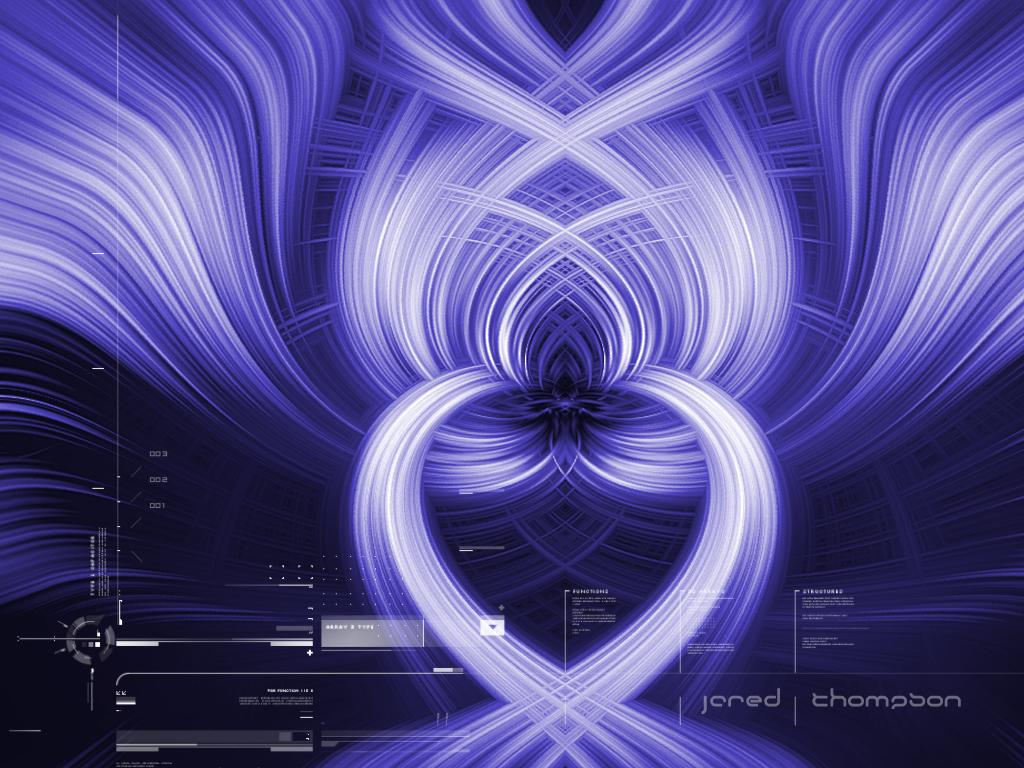 swirl futuristic