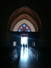 Come to the Light ... (OJ Ximenes) Tags: light people church cathedral indoors