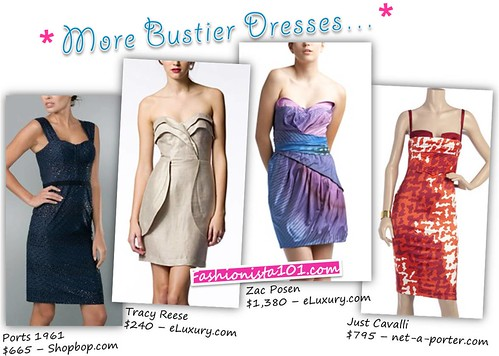 Summer 2009 Trends: Bustier Dresses