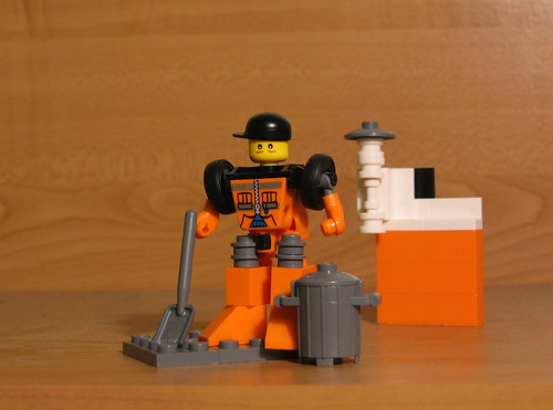 Public Works Bot - Using 5611 custom minifig