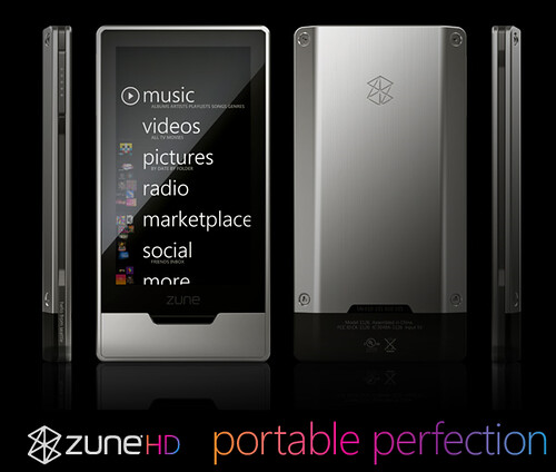 Microsoft Zune HD Portable Perfection