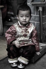 China (babasteve) Tags: china boy portrait traditional kunming babasteve youngboy steveevans teamarket tradtionalclothing