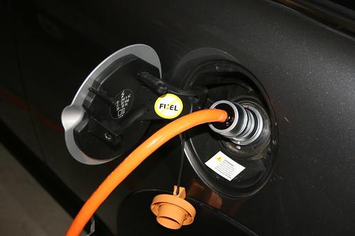 Charging the Mini-e