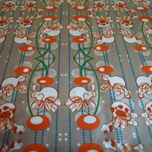 fabric printed from spoonflower.com