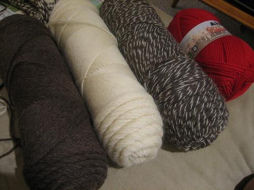yarn for lauren's baby blanket