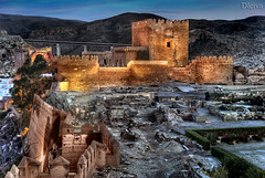 Amanecer en la Alcazaba (Tercer recinto y palacio de Al-motacin) by dleiva