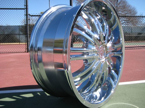 New In Factory Boxes Four 20 Chrome Wheels Rims Cadillac
