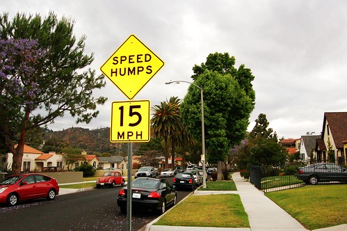 Finally, Speed Humps