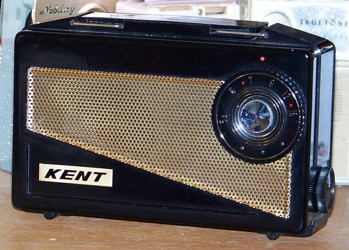 old radio vintage kent cool vacuum tube retro collection collectible collector radios