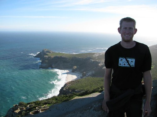 me with the cape point behind me