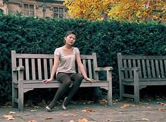 juz a little feeling..../Cambridge Uni garden (G a o r e d ) Tags: cambridge fashion keith retouch orientalimage
