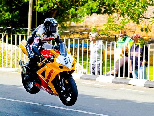 Mark Miller Isle of Man TT Update #10  photo courtesy of John O'Keefe