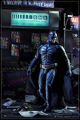 Batman...War on Crime (Bleau Aquino) Tags: batman joker aquino twoface bleau christianbale heathledger aaroneckhart thedarkknight hottoys 16scale harveydent bleauaquino