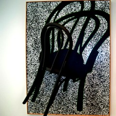 call me chairmaker (bekahhbabyy) Tags: shadow sculpture white black me chair call chairmaker