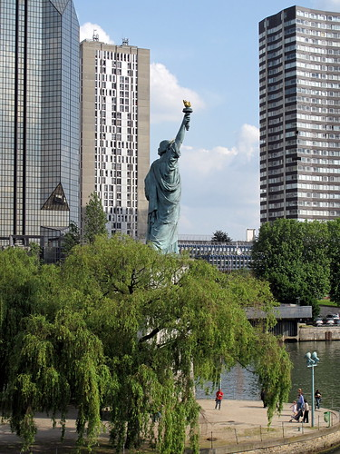 french statue of liberty paris. Statue of Liberty, Paris