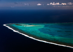 The most beautiful lagoon in the world? by Michael Anderson (AndersonImages) Tags: michael anderson southpacific aerialphoto cookislands motu michaelanderson aitutakilagoon mainaisland aitutakiaerial
