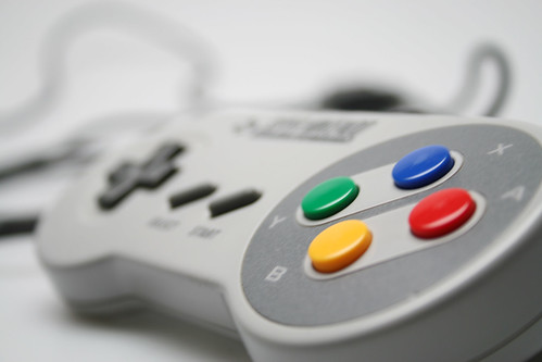 Controle do SNES (Super NIntendo Entertainment System)
