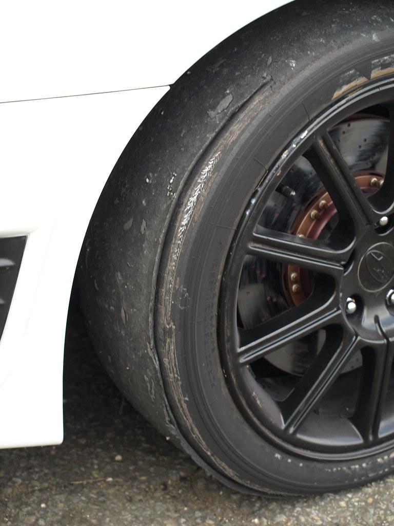Andy's slick tyres