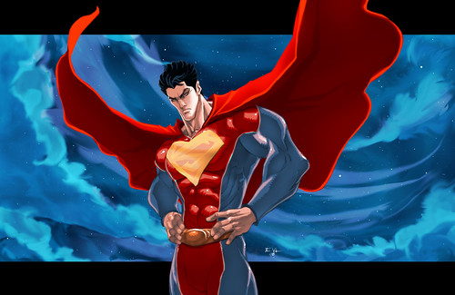 Superman_Man_of_Steel_by_ErikVonLehmann