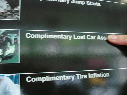 Complimentary Lost Car Ass